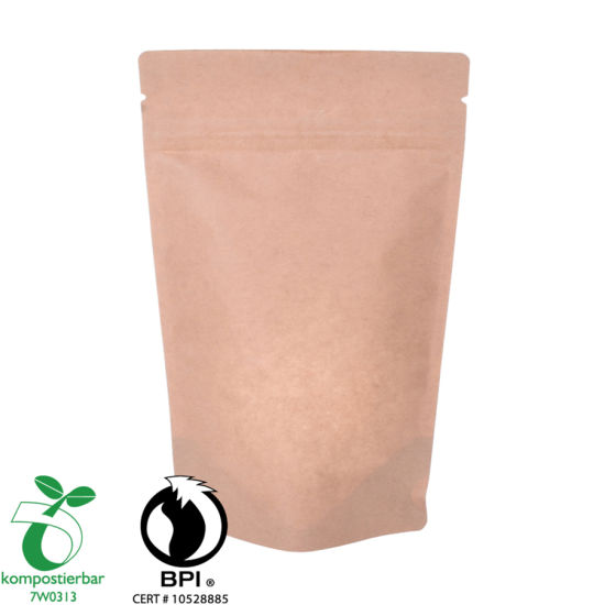 Buena capacidad de sellado Bio Side Gusset Coffee Packaging Bag Factory en China