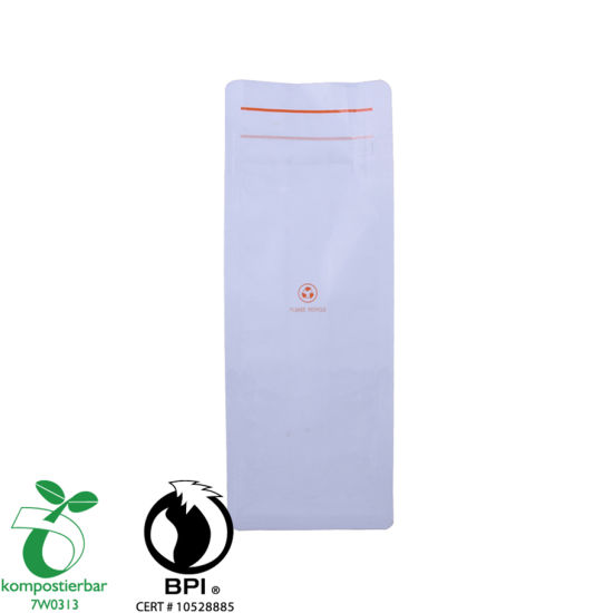 Good Seal Ability Block Bottom Plastic Bag Food Proveedor de alimentos en China