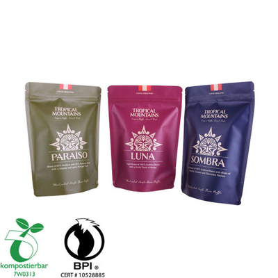Food Grade Doypack Coffee Bag Indonesia Fabricante China