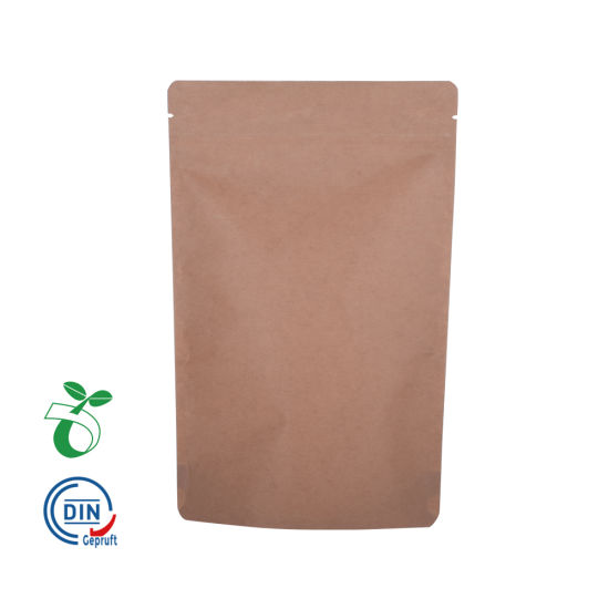 Cp02b Venta al por mayor Eco Friendly Impreso Almidón de maíz Biodegradable Compostable Food Packaging Bag