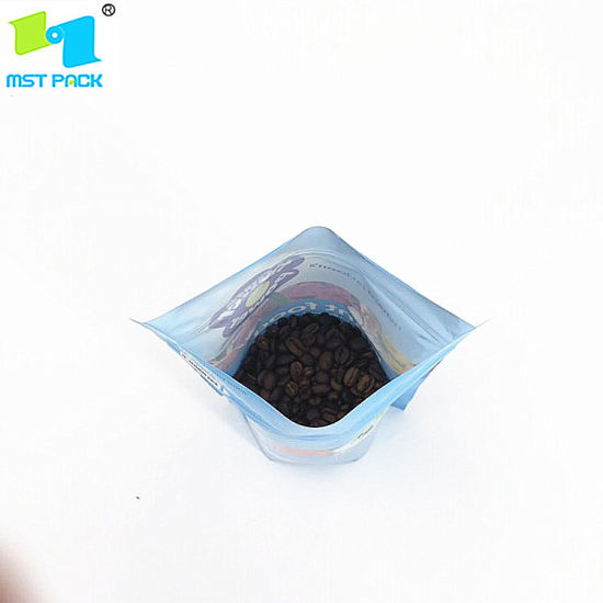 Área de agricultura impresa personalizada Empaque Empaque Biodegradable 100% Compostable Zipper Seeds Bag