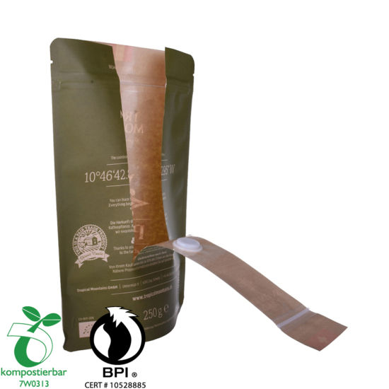 Impreso personalizado Stand up Coffee Bag Filipinas Factory de China